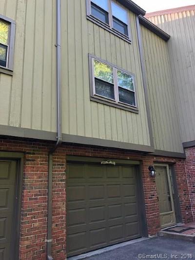 Meriden Condo/Townhouse For Sale: 34 Mattabasset Drive #34