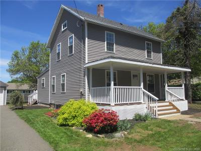 Meriden Single Family Home For Sale: 162 Atkins Street