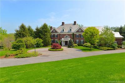 New Canaan Single Family Home For Sale: 723 Oenoke Ridge