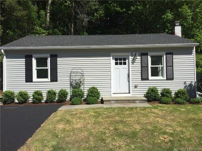 Greenwich Single Family Home For Sale: 25 Cary Road