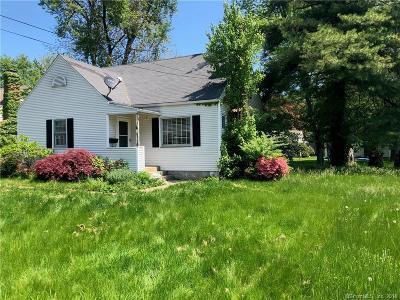 West Hartford Single Family Home For Sale: 4 Seneca Road