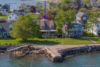 Branford Single Family Home For Sale: 28 Summer Island Point