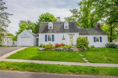 West Hartford Single Family Home For Sale: 63 Thomson Road