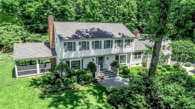 New Canaan CT Single Family Home For Sale: $1,395,000