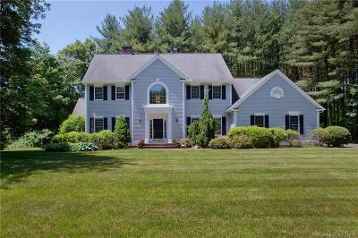 Simsbury Single Family Home For Sale: 2 West Mary Drive