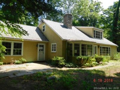 Fairfield Single Family Home For Sale: 185 Hoydens Hill Road