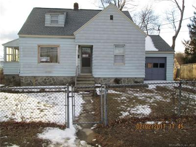 Waterbury CT Single Family Home For Sale: $119,900