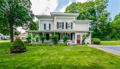 Southington Single Family Home For Sale: 133 Meriden Avenue