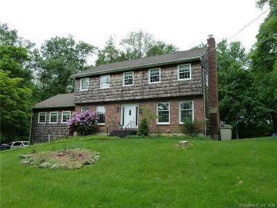 Ridgefield Single Family Home For Sale: 255 Ridgebury Road