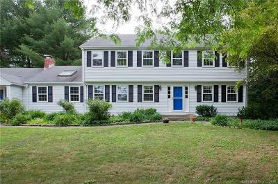 Simsbury Single Family Home For Sale: 18 Watson Drive