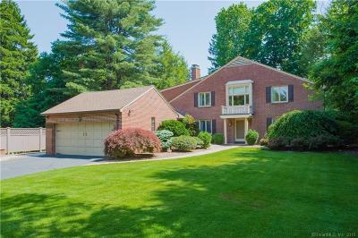 West Hartford Single Family Home For Sale: 11 Brookside Boulevard