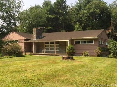 Stafford Single Family Home For Sale: 80 West Stafford Road