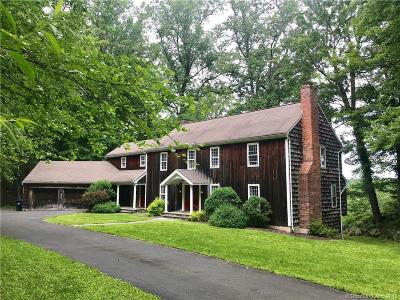Weston Single Family Home For Sale: 149 Davis Hill Road