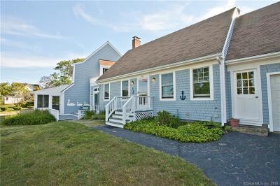 Stonington Single Family Home For Sale: 166 River Road