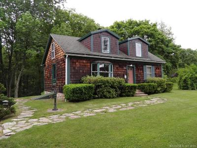 Pomfret Single Family Home For Sale: 202 Babbitt Hill Road