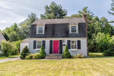 West Hartford Single Family Home For Sale: 37 Ledgewood Road