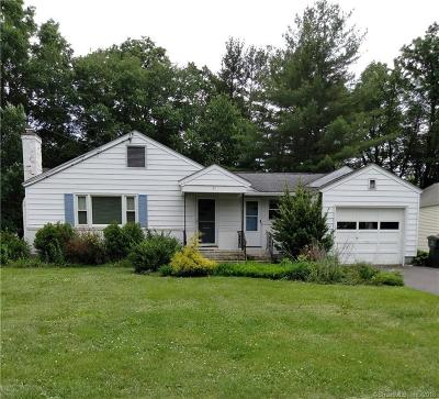 West Hartford Single Family Home For Sale: 43 Haynes Road