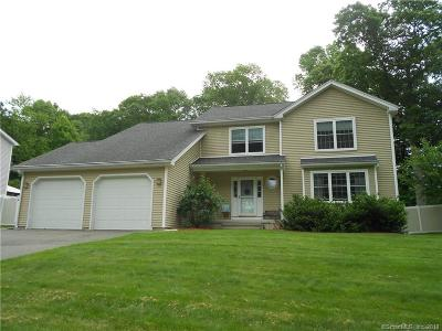 Meriden Single Family Home For Sale: 54 Midland Drive
