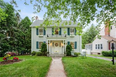 West Hartford Single Family Home For Sale: 165 Ballard Drive