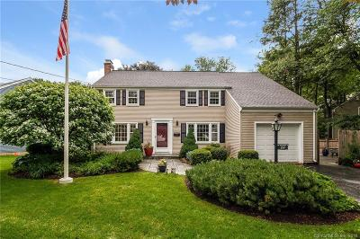 West Hartford Single Family Home For Sale: 109 Richmond Lane