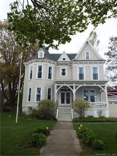 New London Single Family Home For Sale: 597 Pequot Avenue