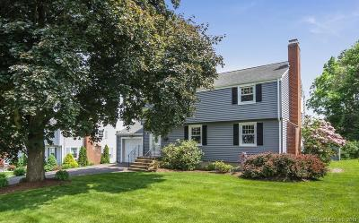 Wethersfield Single Family Home For Sale: 72 Crest Street