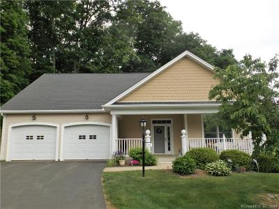 Tolland Condo/Townhouse For Sale: 47 Weigel Valley Drive #47