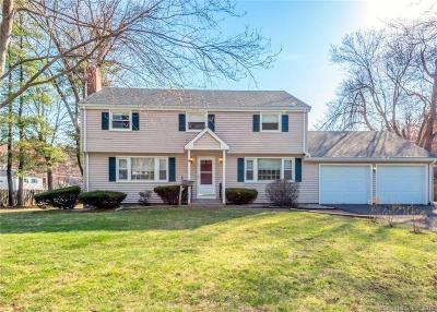 West Hartford Single Family Home For Sale: 34 Karen Road