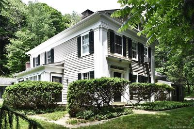 Ridgefield Single Family Home For Sale: 161 North Salem Road