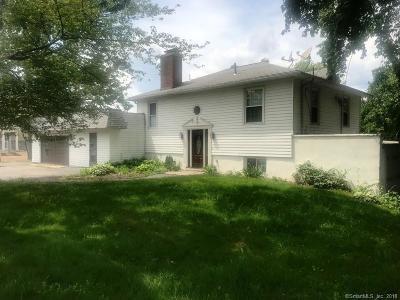 Wolcott Single Family Home For Sale: 1695 Meriden Road