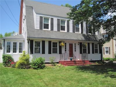 West Hartford Single Family Home For Sale: 56 Brace Road