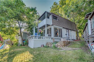 East Haven Single Family Home For Sale: 9 Mansfield Grove Camper