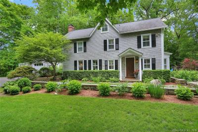 New Canaan Single Family Home For Sale: 289 Smith Ridge Road