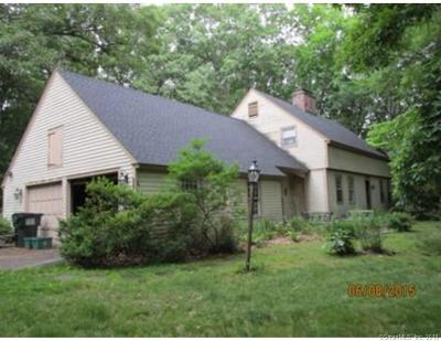 Woodbury Single Family Home For Sale: 99 Cat Swamp Road