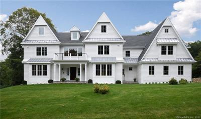 New Canaan Single Family Home For Sale: 71 Hillcrest Road
