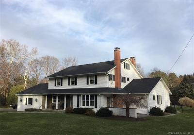 West Hartford Single Family Home For Sale: 18 The Crossways