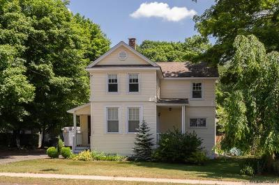 Southington Single Family Home For Sale: 855 Old Turnpike Road