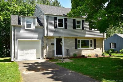 Wethersfield Single Family Home For Sale: 28 Churchill Road