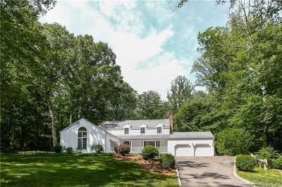 Weston Single Family Home For Sale: 178 Davis Hill Road