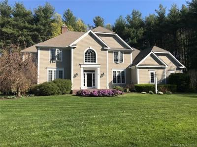 Simsbury Single Family Home For Sale: 4 West Mary Drive