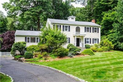 New Canaan Single Family Home For Sale: 114 Rocky Brook Road