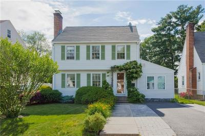 West Hartford Single Family Home For Sale: 15 Erwin Street