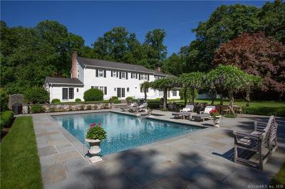 New Canaan Single Family Home For Sale: 235 Laurel Road
