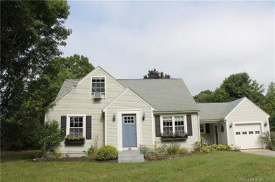Stonington Single Family Home For Sale: 24 Mary Hall Road