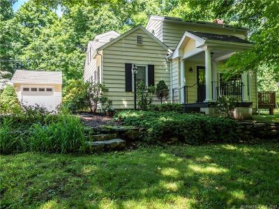Wilton Single Family Home For Sale: 126 Scribner Hill Road