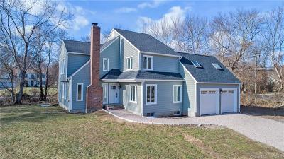 New London County Single Family Home For Sale: 201 Shore Road