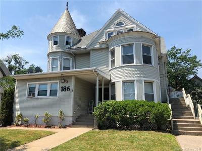 E Haven, New Haven, W Haven Multi Family Home For Sale: 186 Sherman Avenue