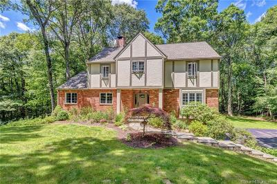 Ridgefield Single Family Home For Sale: 48 Old Wagon Road