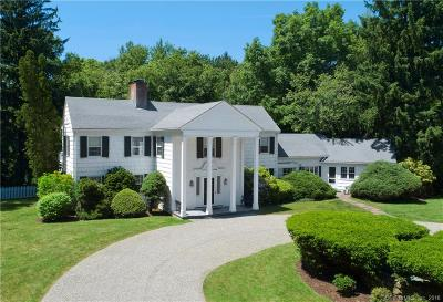 Wilton Single Family Home For Sale: 183 Westport Road