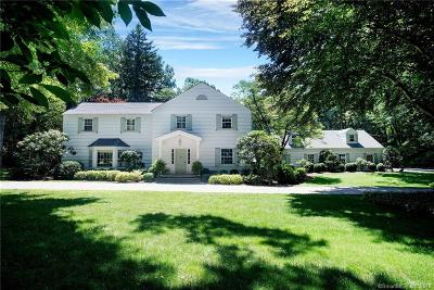 New Canaan Single Family Home For Sale: 62 Ramhorne Road